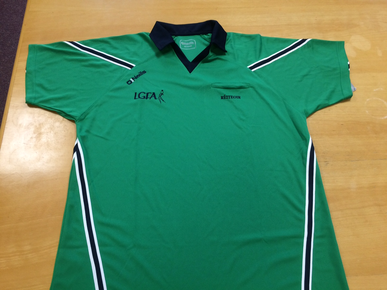 Referee Jersey - Emerald - Marine