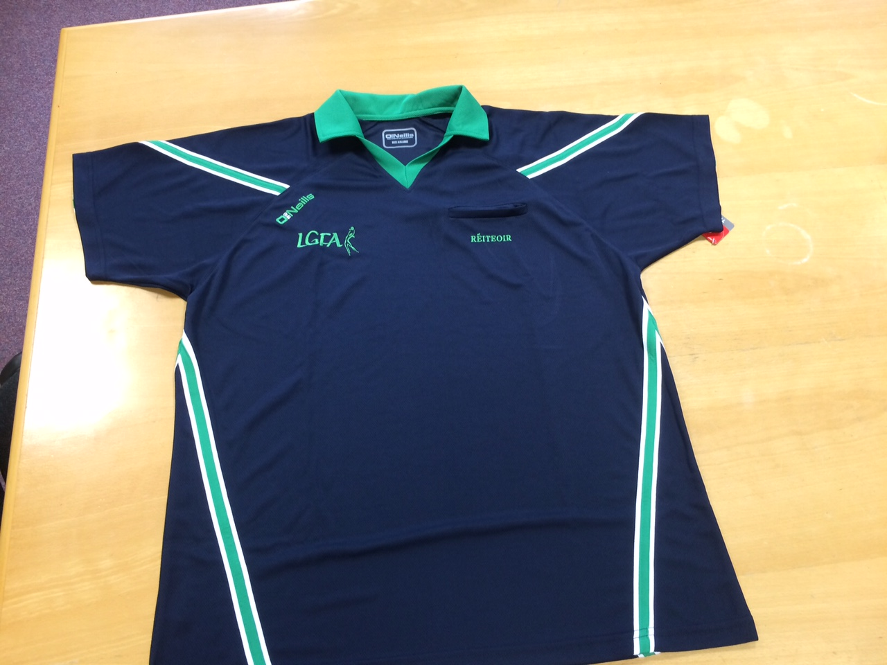 Referee Jersey - Marine -Emerald