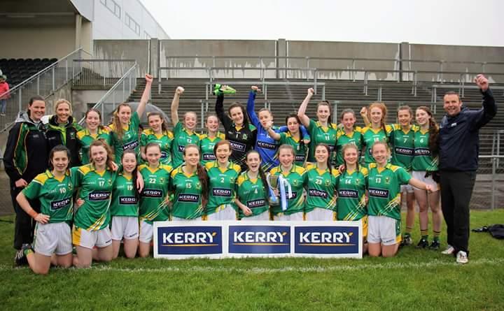 73e4e1a0dd94 U16 Champs Kerry Survive Cork Scare - Ladies Gaelic Football